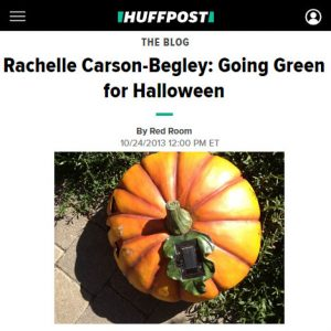 Going green for halloween