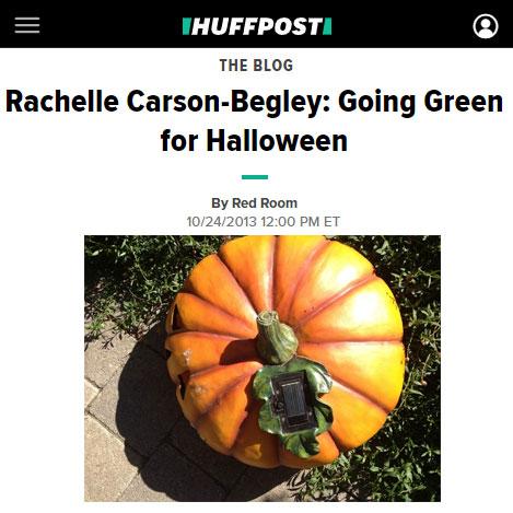Going green for halloween